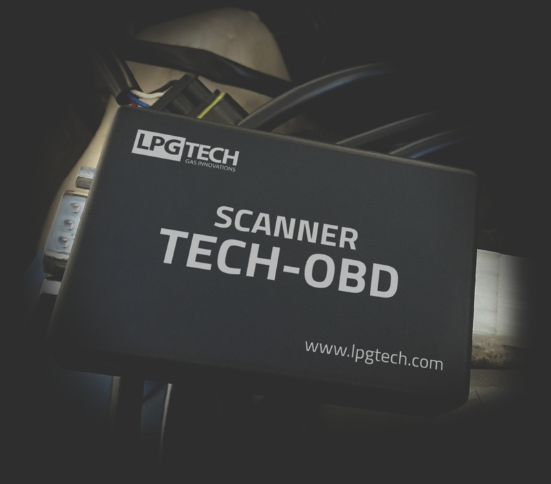 Scanner TECH-OBD